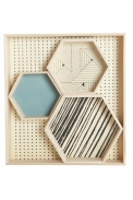 Set of 4 veneer trays £20.00 - AtNo67 Concept Store