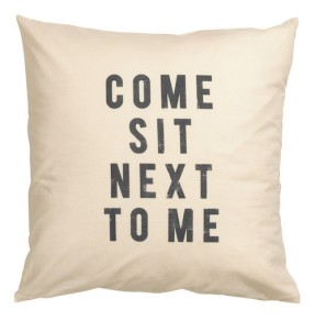 Cushion cover from H&M Home (Spring 2016) £3.99