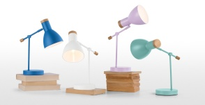 Cohen table lamp £29.00 - Made.com (perfect for desks or bedside tables)