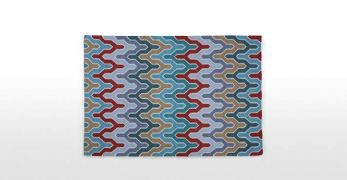 Flamestitch rug £249.00 - Made.com
