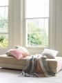 Stripe cushions £32.00 each, stripe throw £49.00 - Oliver Bonas