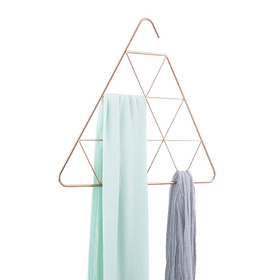 Umbra pendant triangle scarf holder - Red Candy