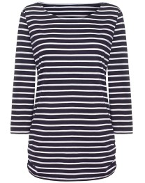 Breton Top in Navy/White, £48.00 from ME+EM