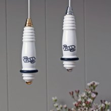 Traditional ceramic light pull, £26.00 from Willow & Stone