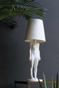 QUIRKY – Hiding Lady lamp, £350.00 from Rockett St George