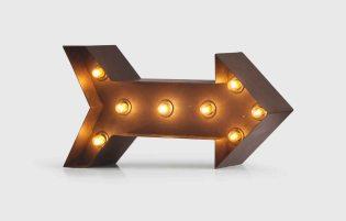 SYMBOLS – Broadway lamp, £89.00 from Made.com
