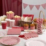 Party Carnival range in red from Neviti