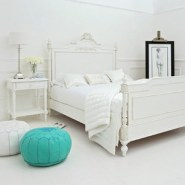 Classical White Panelled Bed from Sweetpea & Willow