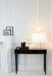 Plumage White Feather Table Lamp from The French Bedroom Company
