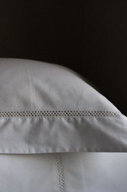 Emilie Crisp White French Bed Linen from The French Bedroom Co