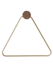 Brass loo roll holder, £28.50 from Holly's House