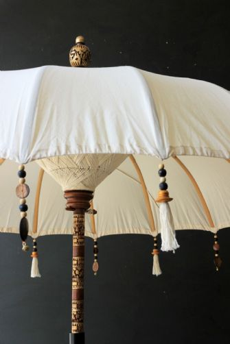 Boho beaded cotton garden umbrella, £185.00 from Rockett St George