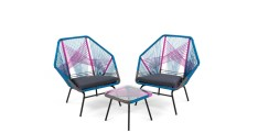 Copa outdoor aperitif set in spectrum pink, £399.00 from Made.com