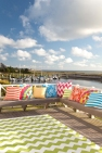 Indoor/outdoor cushions by Fresh American, from £50.00 from Dash & Albert