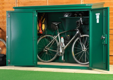 The Annexe high security bike storage shed from Asgard