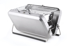 Portable BBQ grill briefcase, £67.72 from Kikkerland