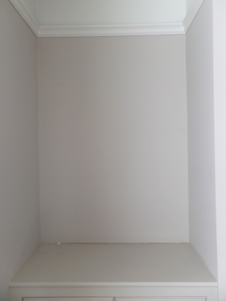 Sad and empty alcove (before)