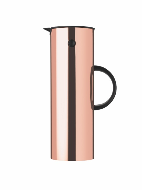 Stelton vacuum jug in copper from Cloudberry Living