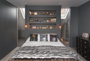 Loft master ensuite by frenchStef Interior Design via Houzz