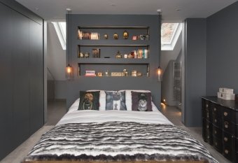 Loft master ensuite by frenchStef Interior Design via Houzz