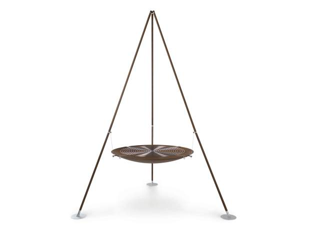 Ak47 Design Tripee fire pit, £1,232.00 from Houseology
