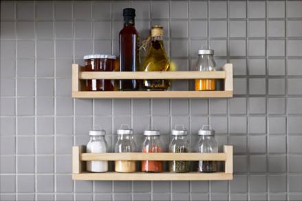Ikea Bekvam spice rack