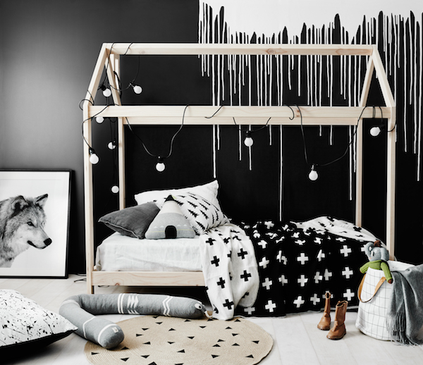 Monochrome kid's room by norsu interiors