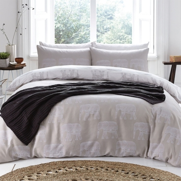Image courtesy of PASX featuring the Elephants duvet cover set