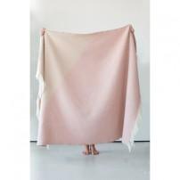 Pink triangle chalk blanket, £100.00