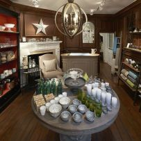 The inviting store interior where you'll find their wares beautifully displayed and ready for browsing