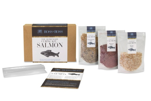 Homemade Salmon Curing Kit from The Oak Room