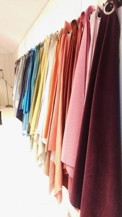 Fabrics in every colour under the sun