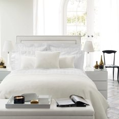 The White Company - featuring the Carlton glass bedside chest