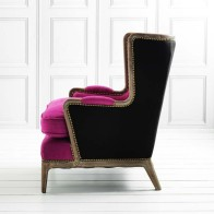 Pink Valentin Armchair, £695.00 from Graham & Green