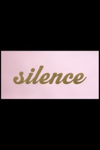 Rockett St George Silence Is Golden art print - pink £75.00