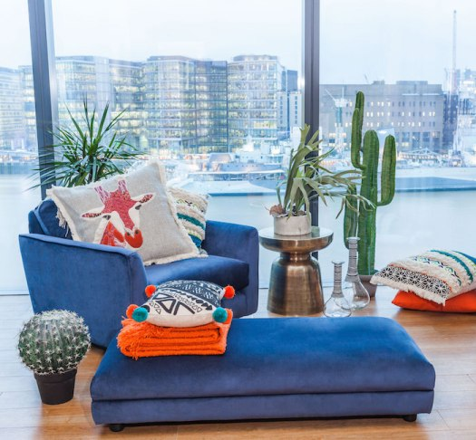 Abigail Ahern Debenhams Designer Apartment at Cheval Three Quays
