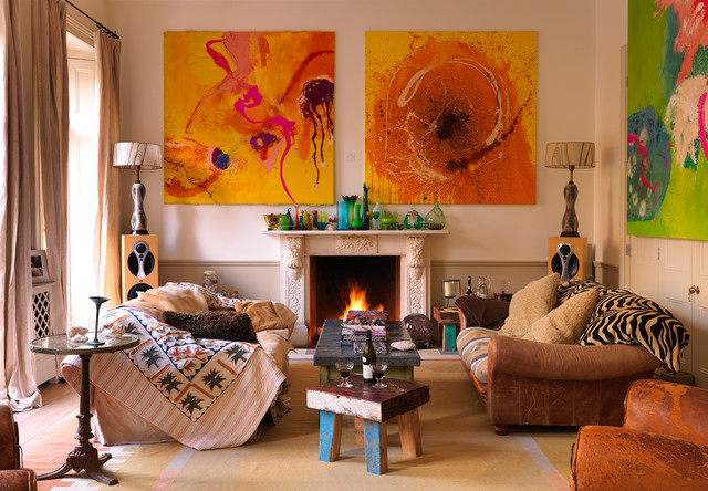 As featured on Houzz – 10 Snazzy Styling Tips for Your Mantelpiece