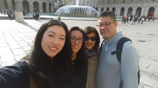 Chong family selfie!